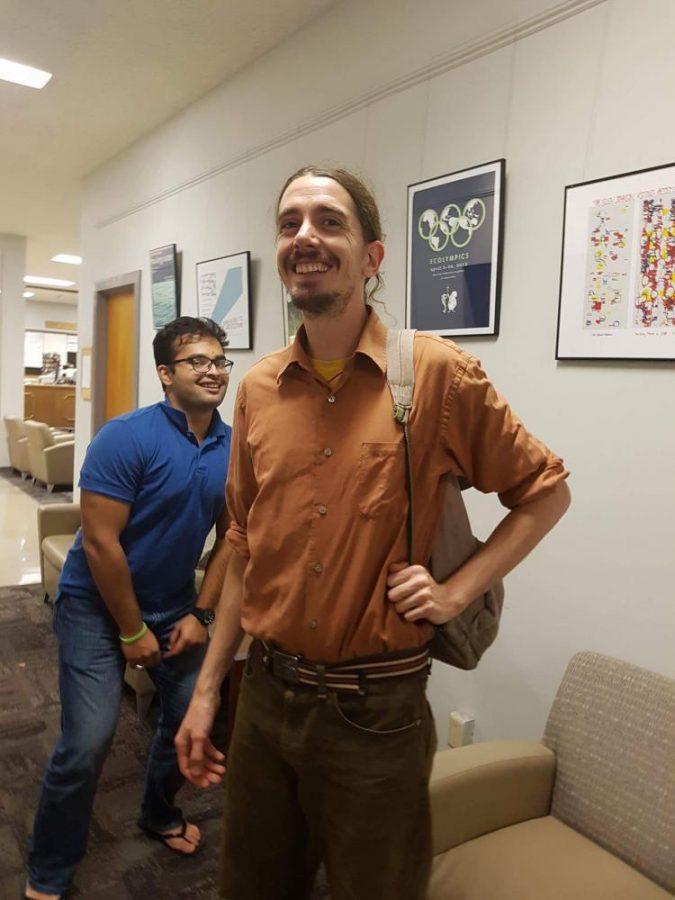 Ian Blanchard, co-founder of Maya Universe Academy in Nepal
