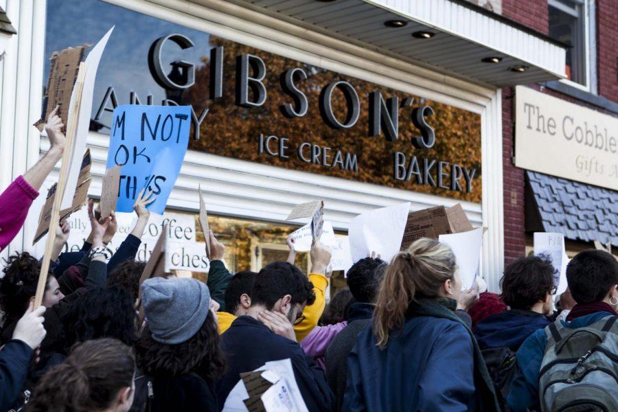 Gibson's Files Lawsuit Against College, Raimondo