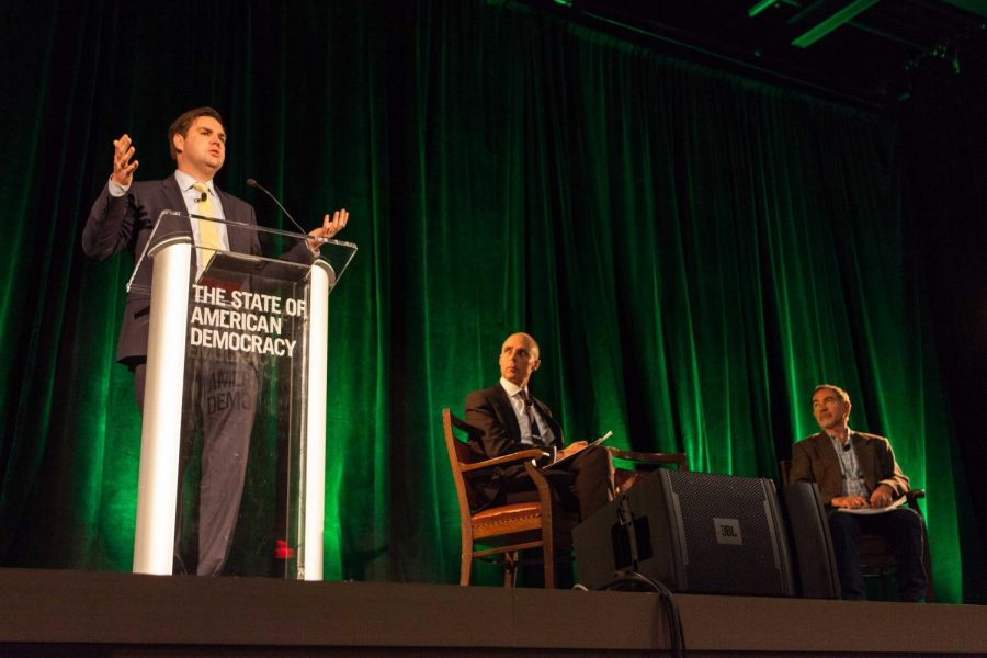 Feature+Photo%3A+J.D.+Vance+Speaks+at+American+Democracy+Conference