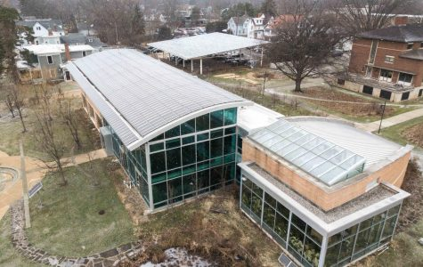 The Adam Joseph Lewis Center for Environmental Studies is one of the most innovative green buildings in the country. Despite this, the College falls short of its sustainability goals by a large margin.