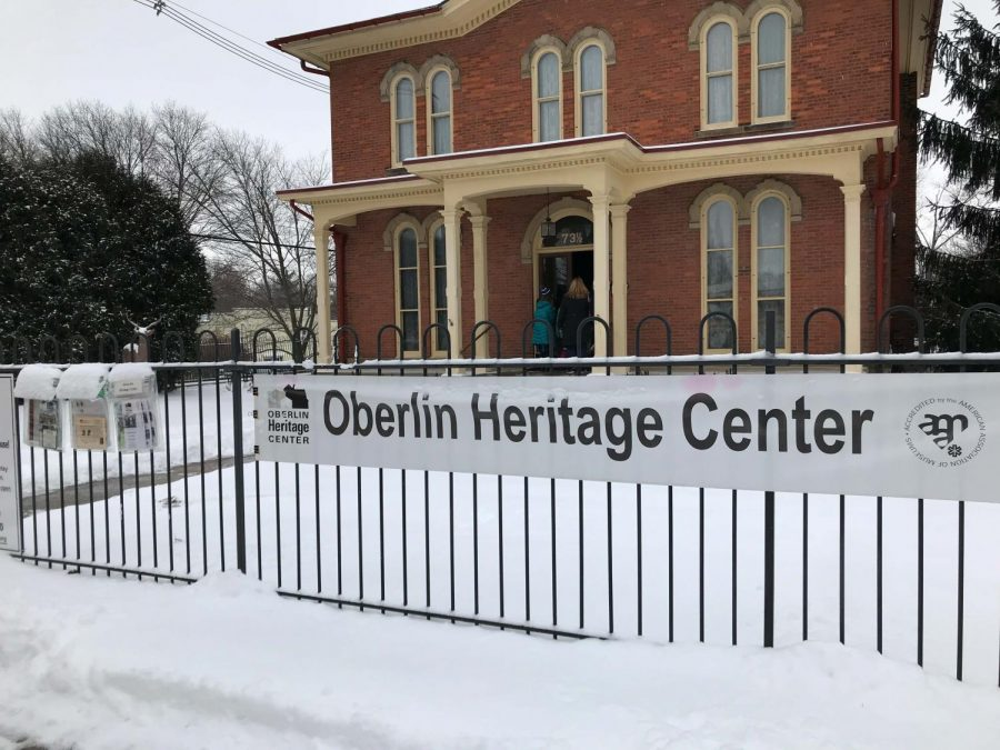 Oberlin+Heritage+Center%2C+which+is+currently+preparing+a+program+to+celebrate+Black+History+Month+by+featuring+a+history+of+Black+business+owners+in+Oberlin.