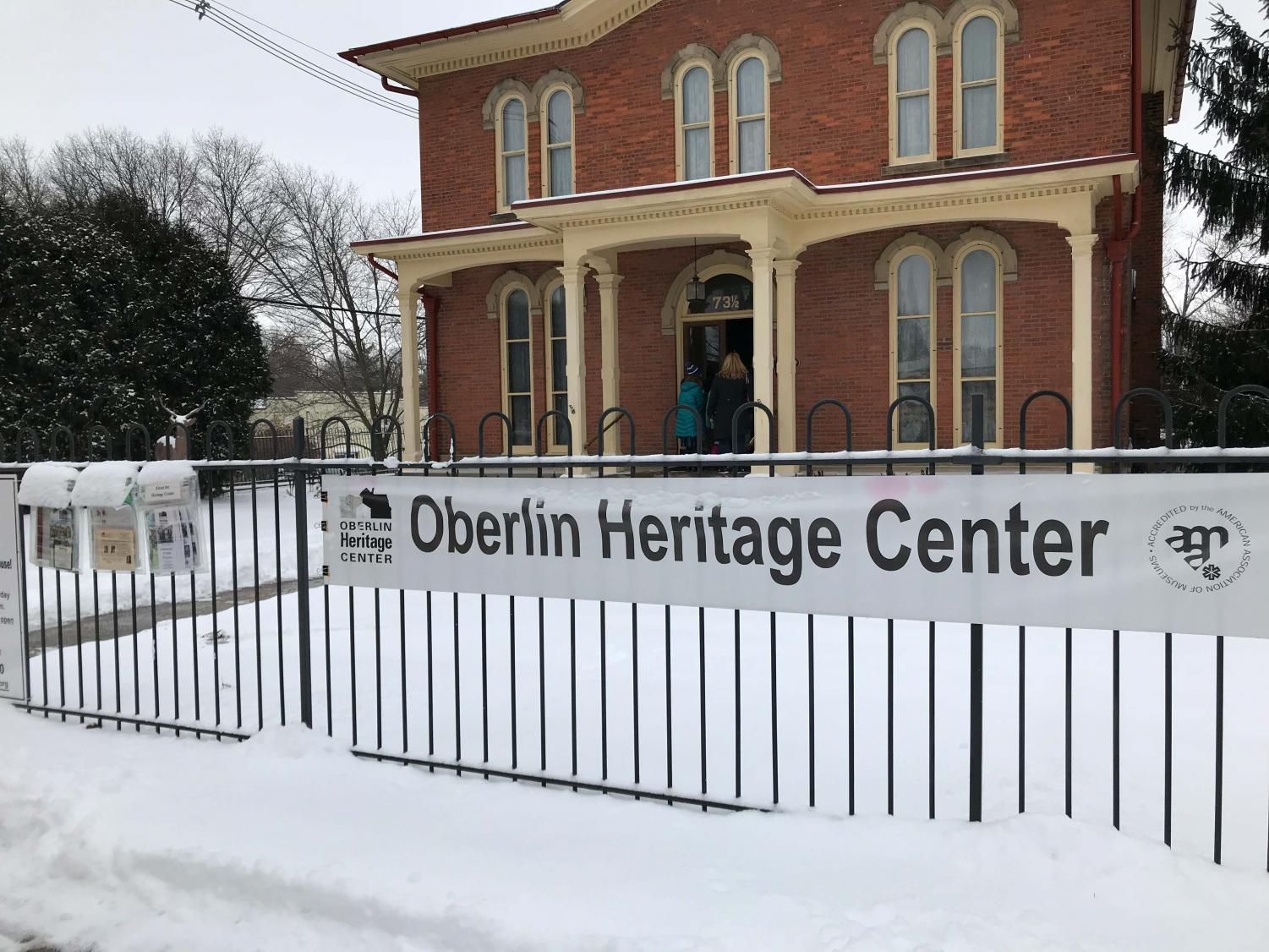 Oberlin Heritage Center, which is currently preparing a program to celebrate Black History Month by featuring a history of Black business owners in Oberlin.