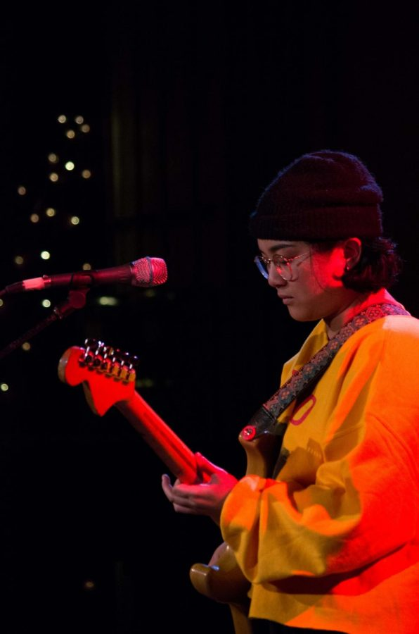 California pop singer-songwriter Melina Duterte performs as Jay Som at the Cat in the Cream Saturday night.