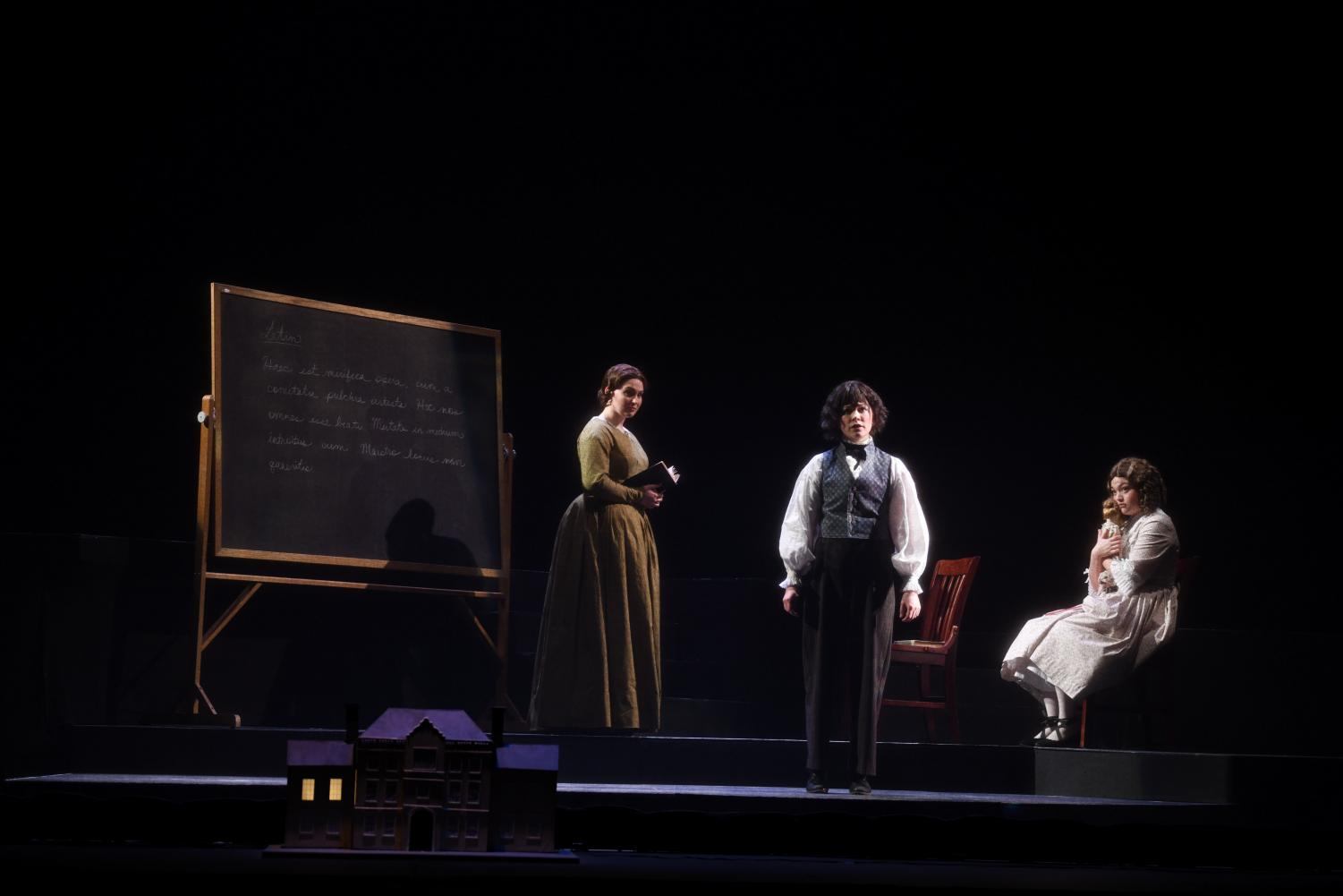 The cast of the Oberlin Opera Theater's production of The Turn Of The Screw performs Benjamin Britten's creepy, contemporary ghost story opera.