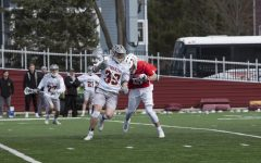 Men's Lacrosse Defeats Tigers 14–13, Finishes Season on Three-Game Win Streak