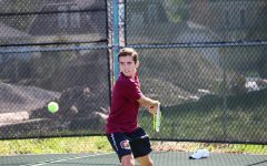 Men's Tennis Enjoys Victory Against OWU on Senior Day