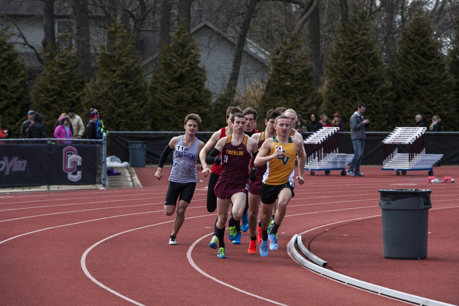 Distance runner Owen Mittenthal, who has enjoyed a successful senior season thus far. In the All-Ohio Championships Saturday, Mittenthal earned his team a point in the 1,500-meter, finishing the race at 4:07.00.