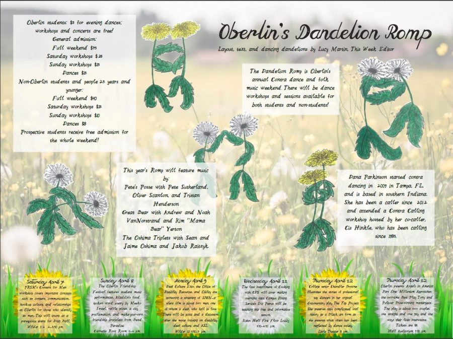 Oberlins Dandelion Romp
