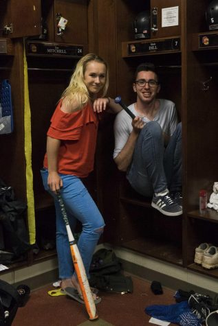 In The Locker Room with Alex McNicoll and Alexis Dill, Sports Editors