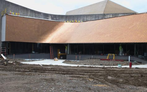 Construction on the Eric Baker Nord Performing Arts Annex is nearing completion. The Theater department is set to stage
