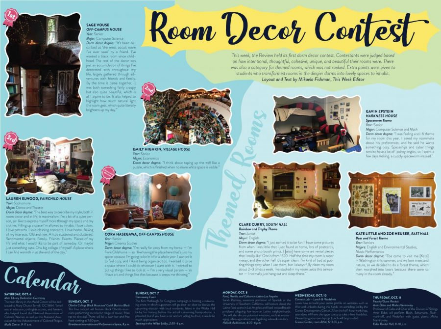 Dorm Decor Contest