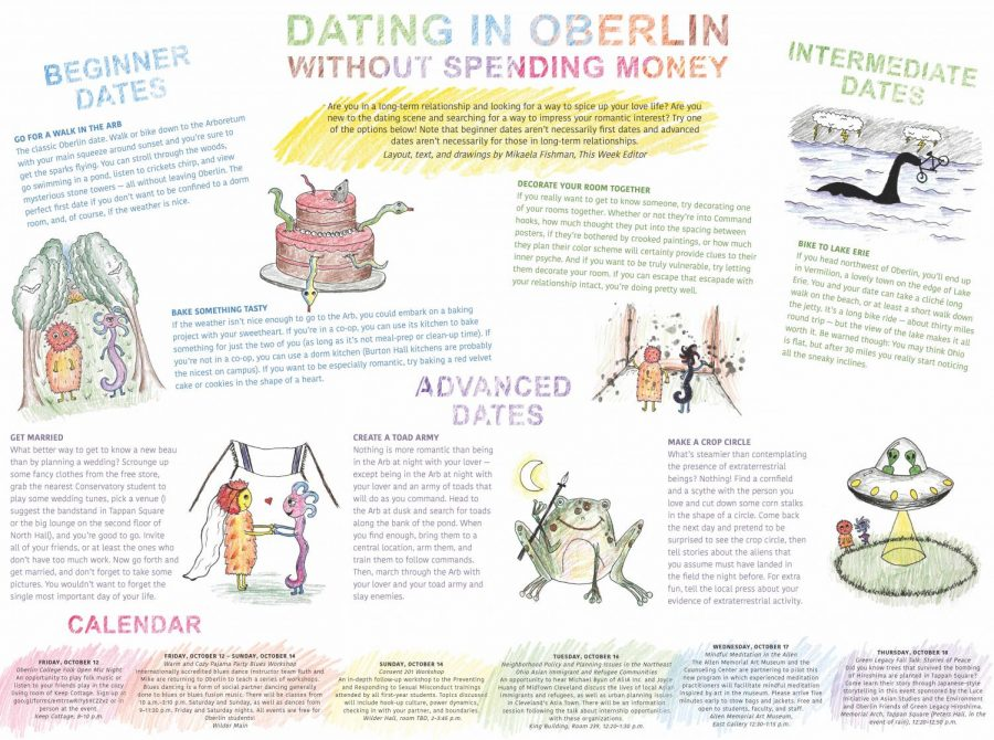 Dating in Oberlin Without Spending Money