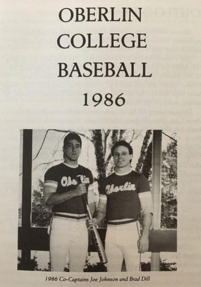 The 1986 Oberlin College baseball team set a program record for wins in a single season with 15. Joe Johnson, who was a legend in the program from 1984–86, broke five individual records that year.