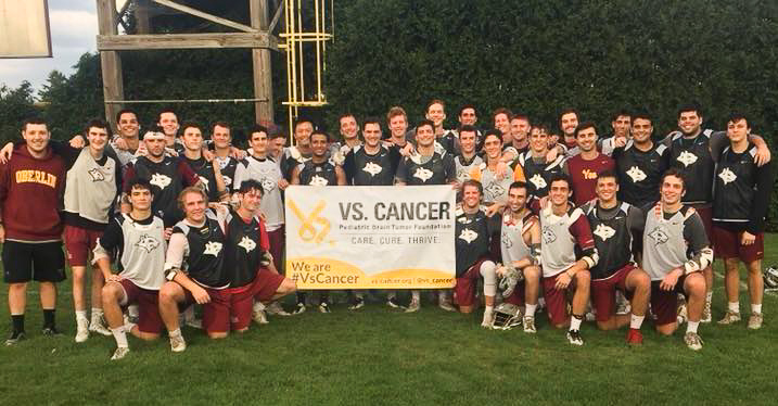 The+Men%E2%80%99s+Lacrosse+team+raised+money+for+University+Hospital+Rainbow+Babies%2C+a+local+branch+of+the+Pediatric+Brain+Tumor+Foundation+in+Cleveland.
