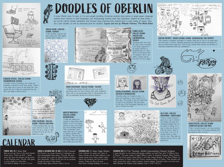 Doodles of Oberlin
