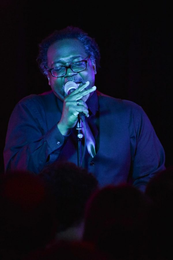 Associate Professor of Africana Studies Charles Peterson performed at the WOBC Cover Band Showcase last Friday night at the 'Sco.