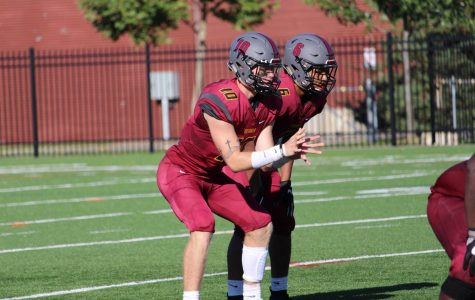 College first-year and quarterback Tommy Jenkins was subbed into the Yeomen's matchup with the Hiram College Terriers Saturday when College junior and starting quarterback Zach Taylor broke his fibula. Jenkins' brilliant play led the Yeomen to a victory in double overtime.
