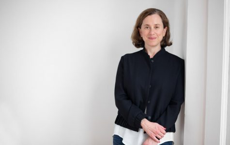 """Associate Professor of Integrated Media gave a President's Lecture last week, titled """"Upgrade Available,"""" which discussed her research and artwork that operates at the intersection of technology, culture, and science."""