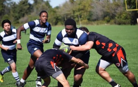 Senior President Sam Paul is the only senior and four-year player for the Gruffs, the men's club rugby team. The team plays its final matches of the season tomorrow in a tournament with Kenyon College, Tiffin University, and Taylor University.