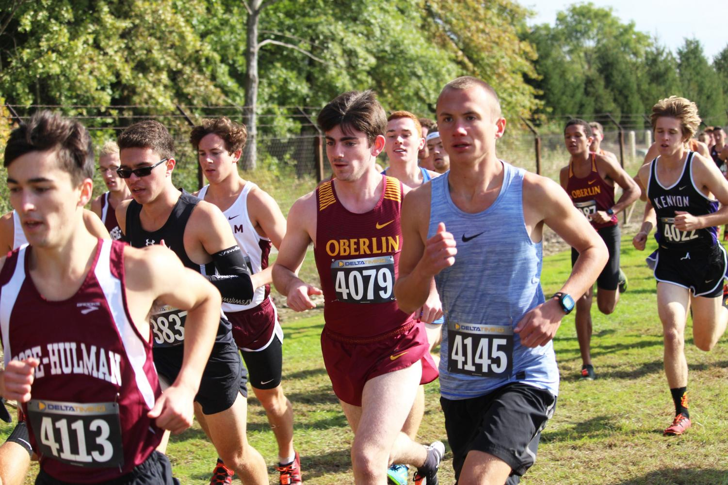 College first-year and cross country runner Avery Coreschi said his favorite part about running is the feeling of freedom he gets, as well as the opportunity to take in his surroundings in a unique way.
