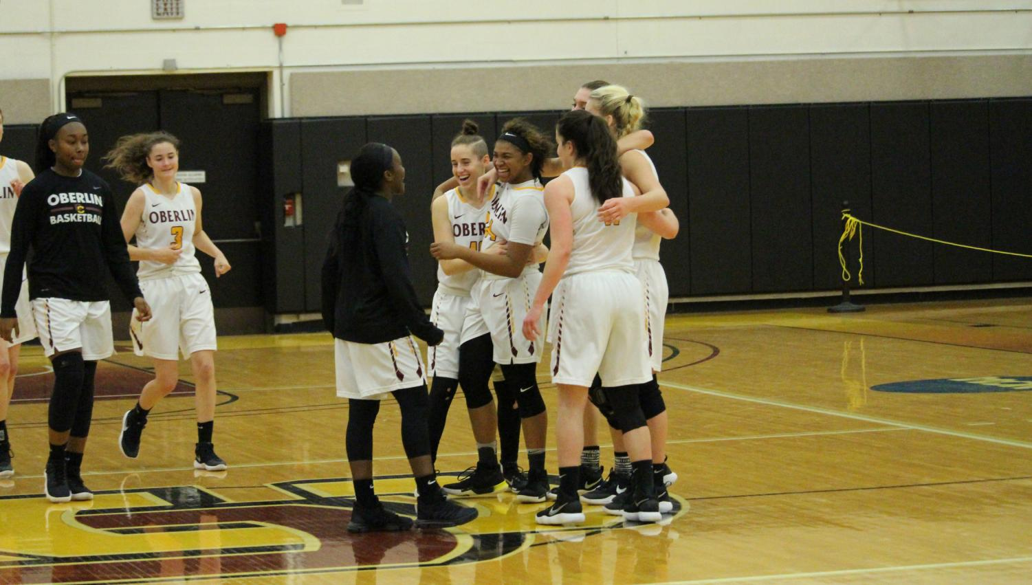 Members of the women's basketball team take pride in their geographical, racial, ethnic, sexual, and spiritual diversity, but put their differences aside when they step on the court, uniting behind their desire to win. The team looks to repeat as North Coast Athletic Conference champions this year, with their first game scheduled for Nov. 10.