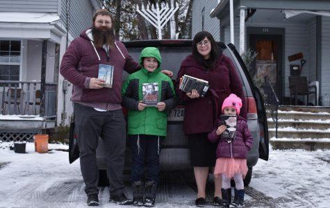 Chabad Sponsors Book Drive