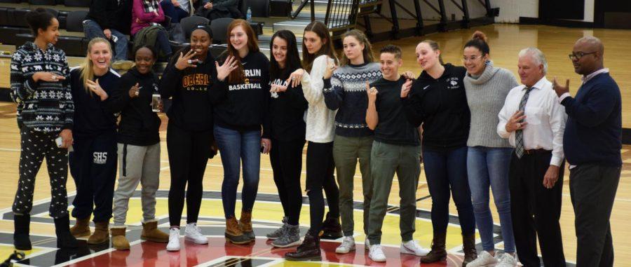 Womens Basketball Gets New Bling