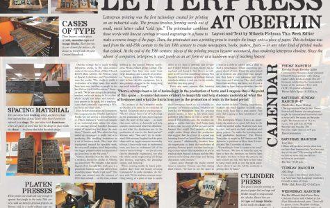 Letterpress at Oberlin