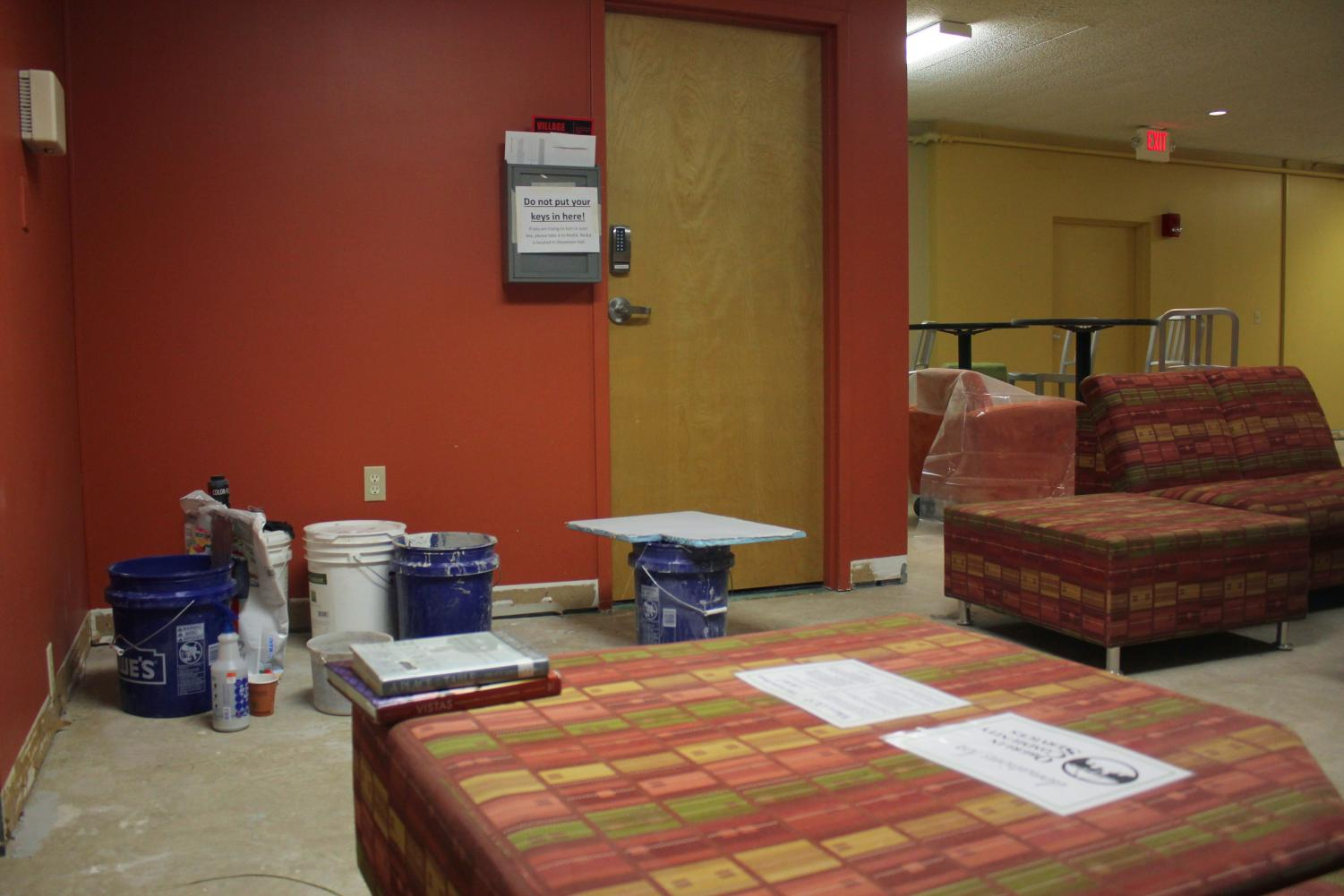There are currently ongoing construction projects in Firelands Apartments Building, which some residents find disruptive.