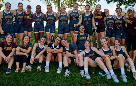 Under the leadership of new Head Coach Kim Russell, the women's lacrosse team has focused on holistic wellness this season.