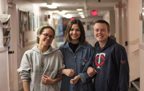 College sophomore Gio Donovan, College first-year Colby Fortin, and College sophomore Jojo Scott are OSCA's three sexual harm information liaisons and hold office hours in Wilder Hall every week.