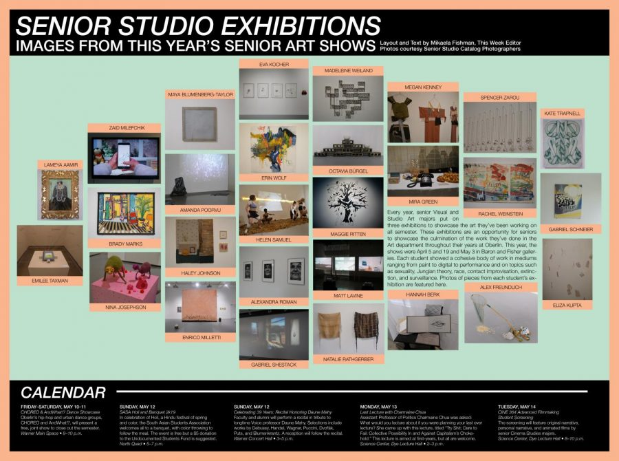 Senior Studio Exhibitions