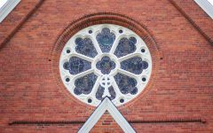Christ Episcopal Church Replaces Old Rose Window