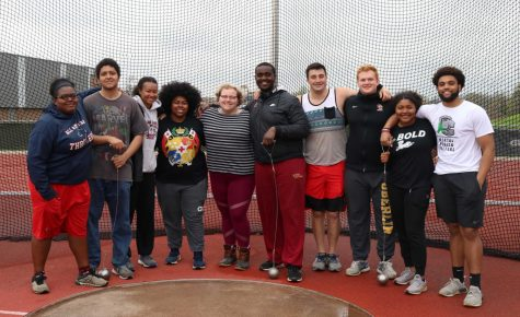 Because the hammer throw is banned at most high schools across the country, many of Oberlin's throwers were first introduced to the event when they arrived on campus. After years of hard work, College senior Hank Sinn and College junior Maya English have a chance to qualify for nationals in the event.