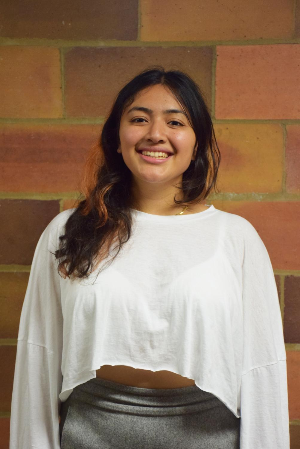 College fourth-year Laila Telles.