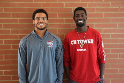 First-year Liam Akpata and second-year Kofi Asare