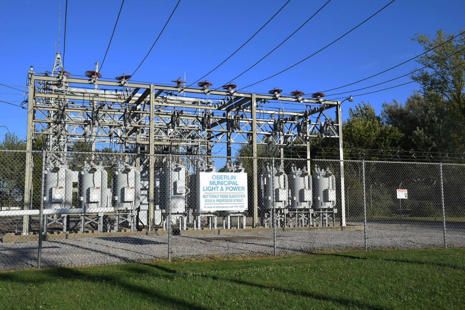 The Oberlin Municipal Light and Power plant generates and distributes electricity to Oberlin's residents. The plant is part of the redistribution process that happens when the city sells Renewable Energy Credits back into the electric grid and funds the Sustainable Reserve Program.
