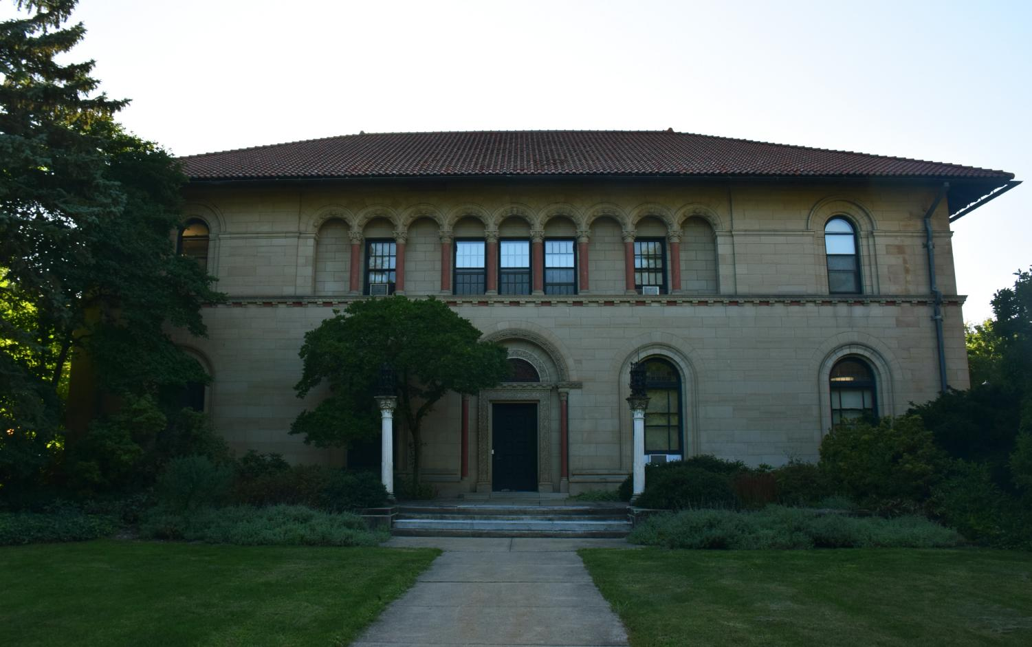The Cox Administration Building houses the Dean of the College of Arts & Sciences' office. Currently, both the College and the Conservatory are engaged in an active search for new deans.