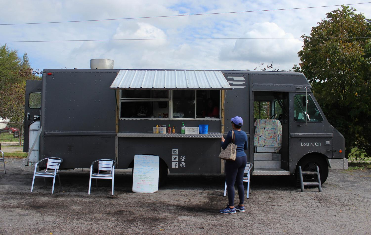 Steel Magnolia, a food truck and catering service serving Caribbean and Southern-style cuisine, is located at 408 E. Lorain Street.