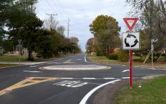 Residents Respond to Construction of Pyle South Amherst Road Roundabouts