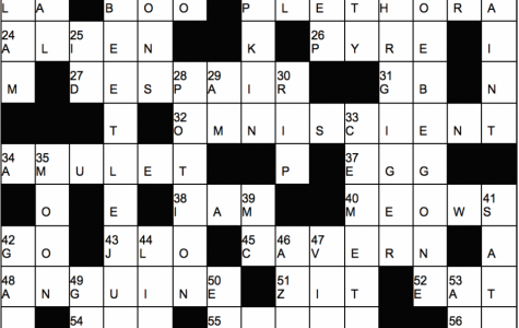 Halloween Crossword Answers