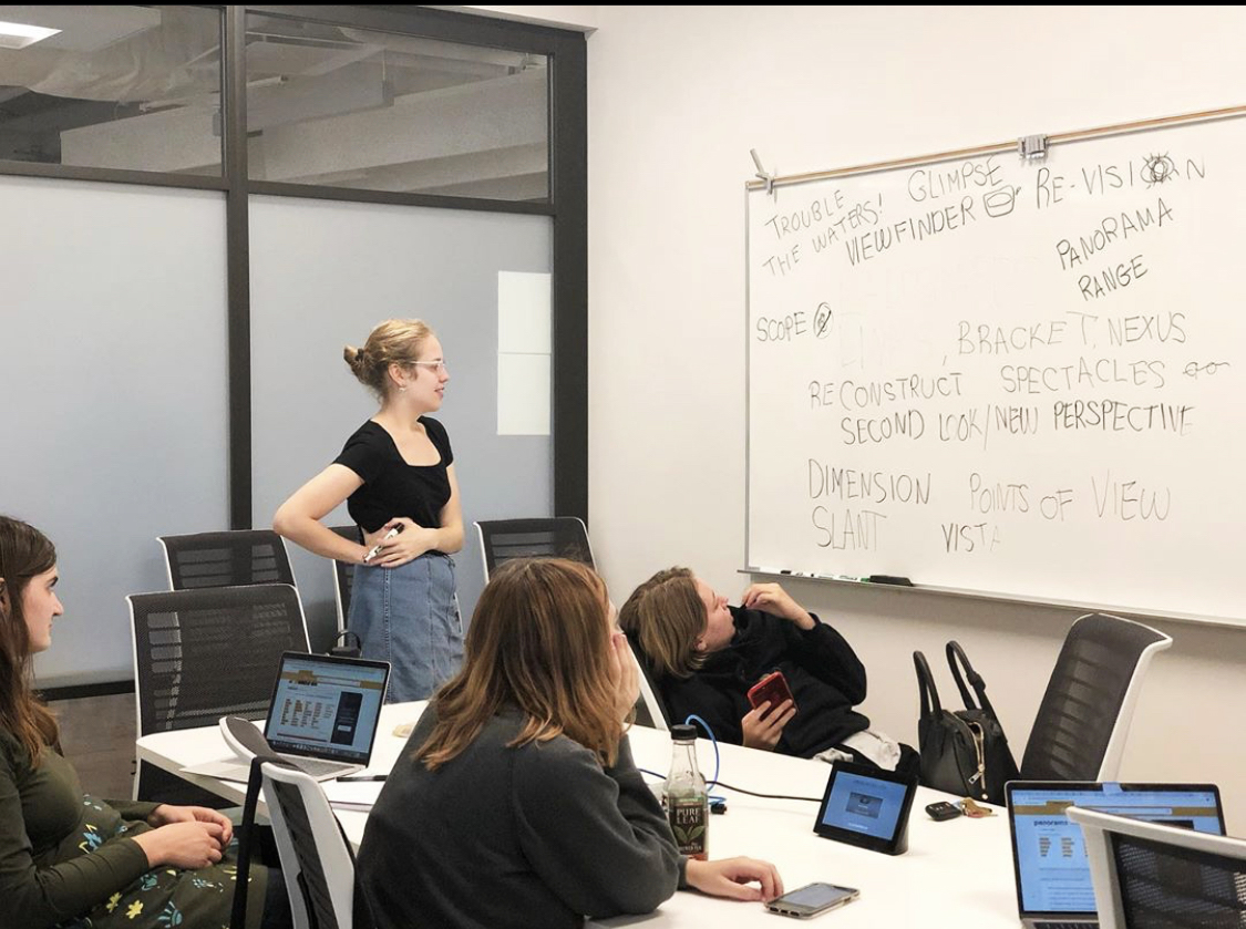 The editorial board of On Second Thought, Oberlin's new undergraduate history journal, lay out a strategy for the new publication.