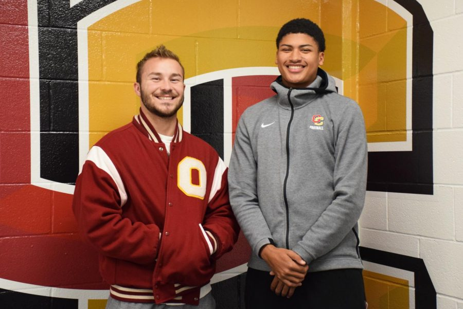 Football Quarterback Looks to Pass the Torch