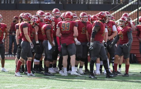 The Oberlin College varsity football team.