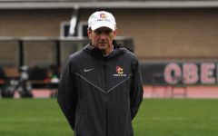 Head Women's Soccer Coach Dan Palmer.