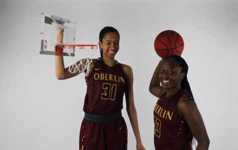 College fourth-years Jasmine Sorrells and Cheyenne Arthur.