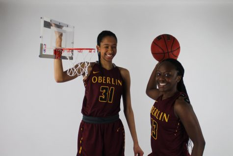 College fourth-years Jasmine Sorrells and Cheyenne Arthur.