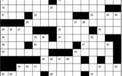 Splitting Hares: A Crossword of Homonyms