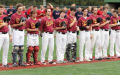 The baseball team, one of many sports teams to have their spring seasons canceled.