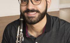 Amer Hasan, Third-year Conservatory Clarinetist